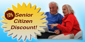 Senior Citizen Discounts for computer services